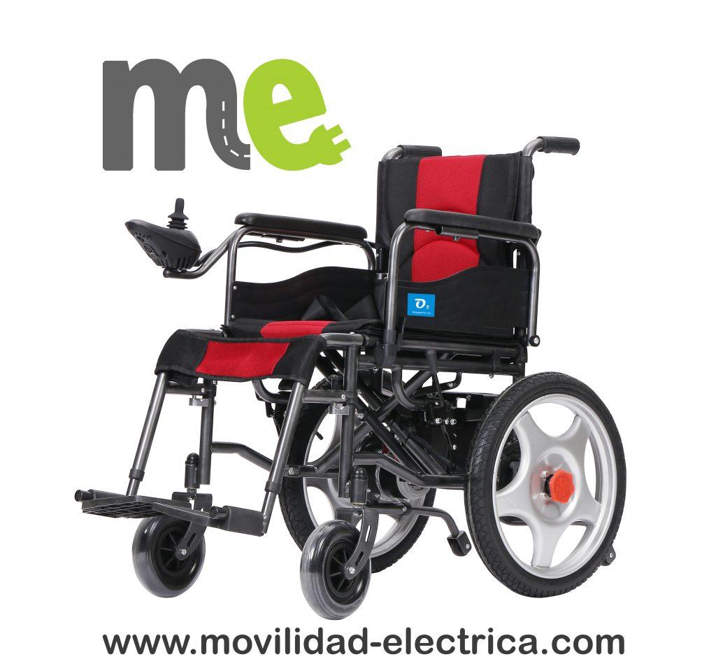 Silla de ruedas eléctrica económica, plegable, liviana